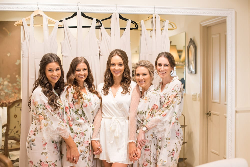 Getting ready in the bridal suite   An Intimate Wedding in St. Augustine   Mackenzie + Nick