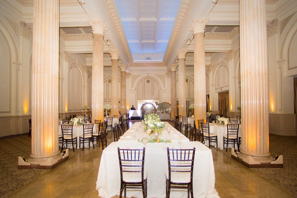 Wedding reception at Treasury on the Plaza   An Intimate Wedding in St. Augustine   Mackenzie + Nick