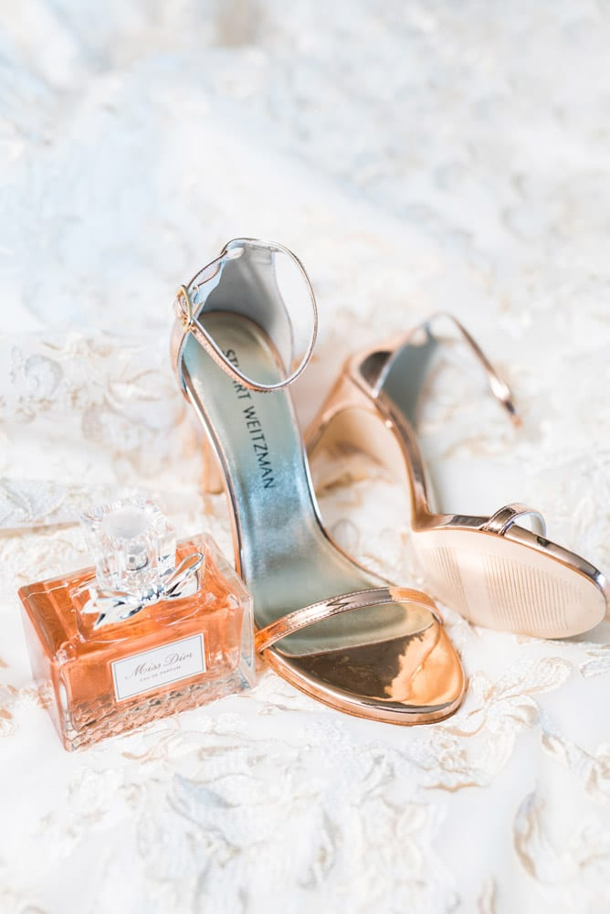 Bridal details at Treasury on the Plaza | A Memorable New Year's Eve Wedding | Merlita + Ross