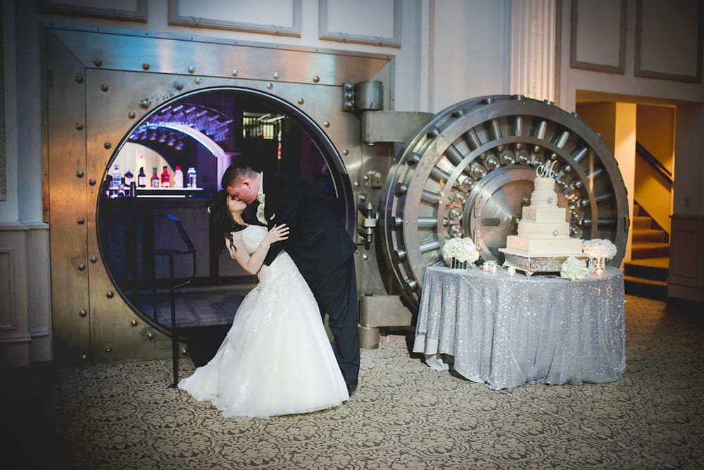 Bride and groom picture | The Vault at The Treasury