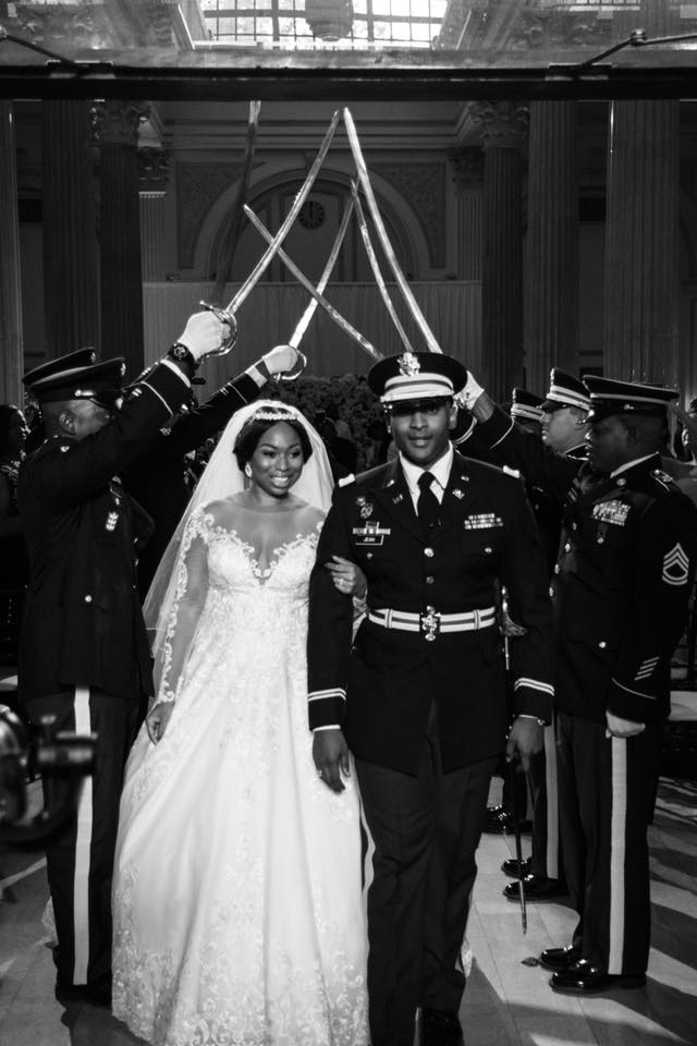 Military Wedding at The Treasury on the Plaza St. Augustine
