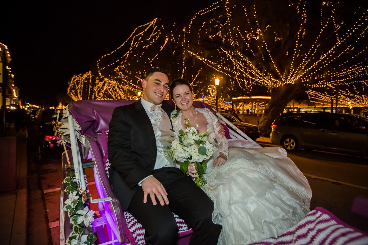 5 Splendid Ways to Take Advantage of Nights of Lights When Planning a Holiday Wedding in St. Augustine