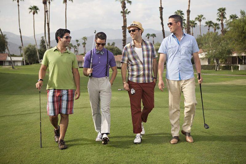 Golfing for Wedding Weekend