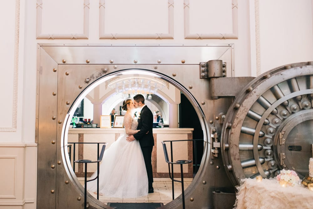 Alex + Michael | High School Sweethearts Tie the Knot at The Treasury on the Plaza Featured Image