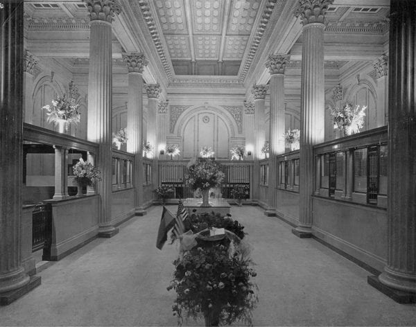 Historic Photos of the Bank