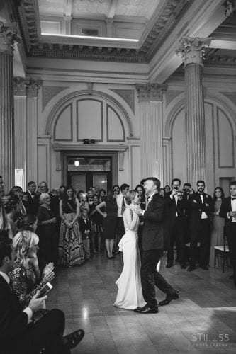 Elizabeth and Gordon's 2015 Wedding at The Treasury on the Plaza. Photos by Still 55 Photography