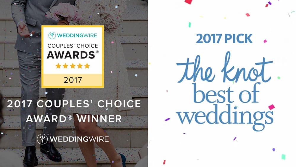 The Treasury on the Plaza wins The Knot Best of Weddings and WeddingWire Couples Choice Awards