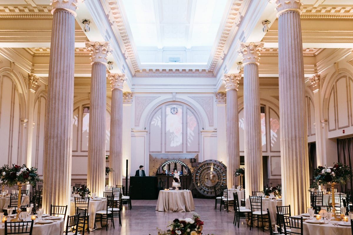 Meghan and Steve's 2016 Wedding at The Treasury on the Plaza. Photo by Monika Gauthier Photography.
