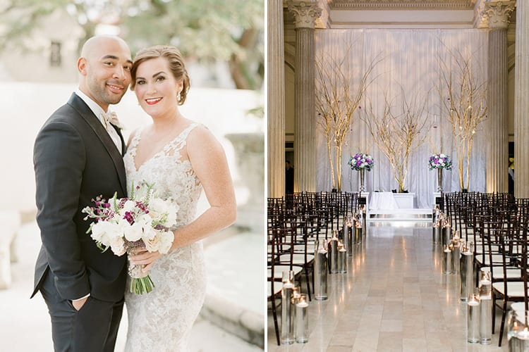 Tricia and Mannie's 2016 wedding at The Treasury on the Plaza. Photos by J Layne Photography