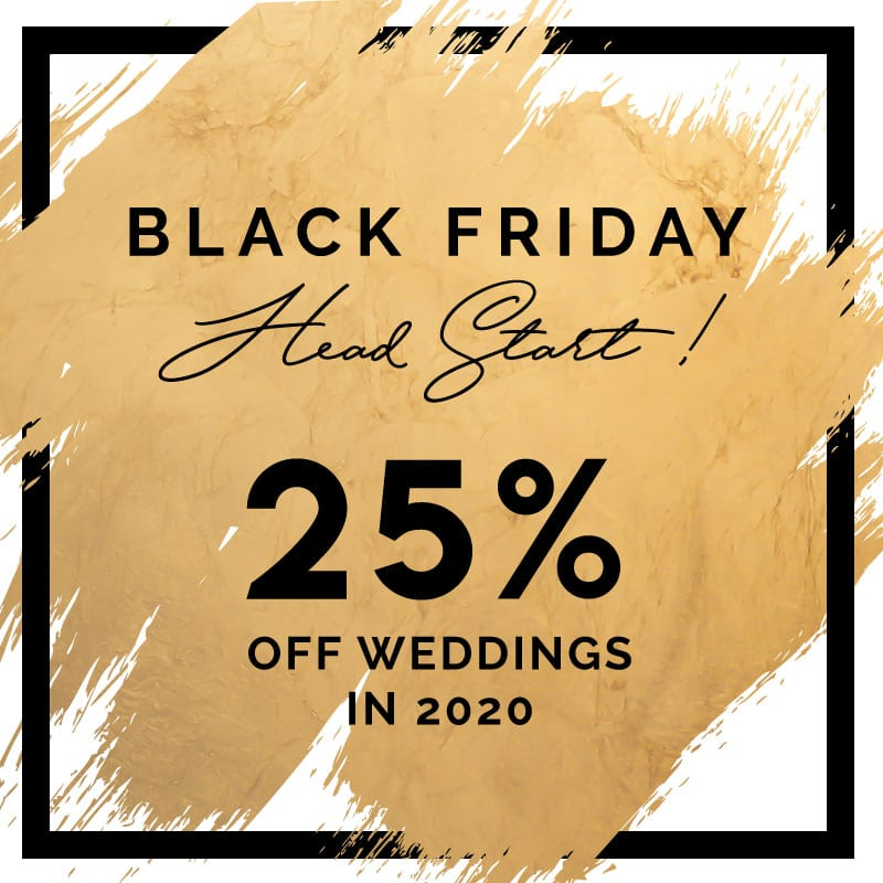 Black Friday Wedding Venue Specials | The Treasury on the Plaza | Wedding venue jacksonville st augustine
