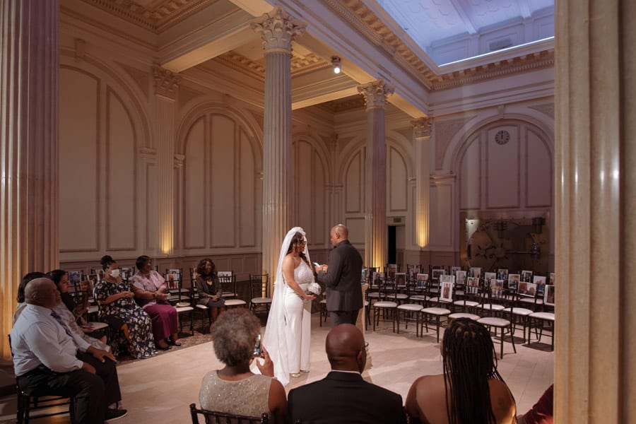 Wedding ceremony | De-Shazo and Jaccara's Surprise Wedding at The Treasury! | St. Augustine Wedding Venue
