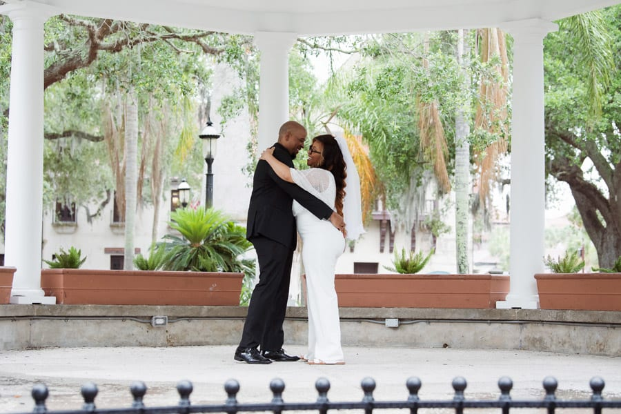 First Dance in the Plaza de la Constitucion | De-Shazo and Jaccara's Surprise Wedding at The Treasury! | St. Augustine Wedding Venue