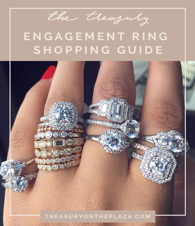 Engagement Ring Shopping Guide From The Treasury on the Plaza