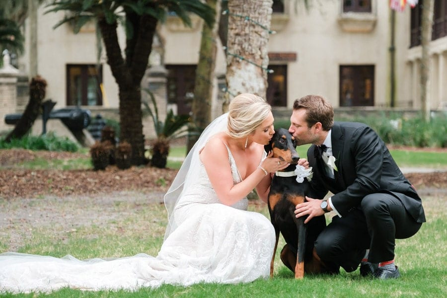 Courtney and Steven - Wedding Photos at The Treasury on the Plaza in St. Augustine