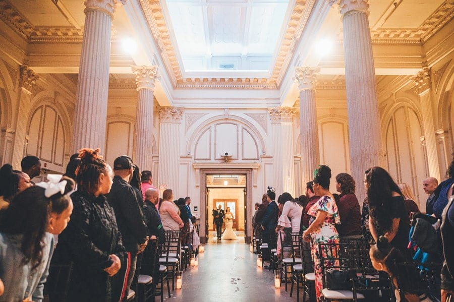 Wedding Ceremony Photos at The Treasury on the Plaza St. Augustine