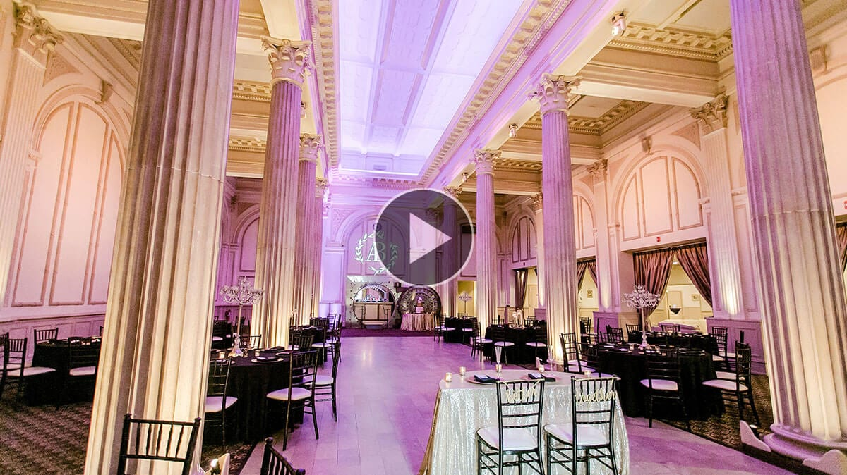 Wedding Reception Virtual Tour Featured Image