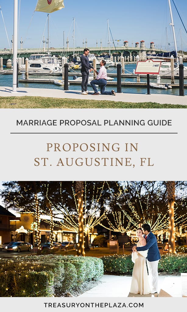 St Augustine Marriage Proposal Planning | Proposing in St Augustine