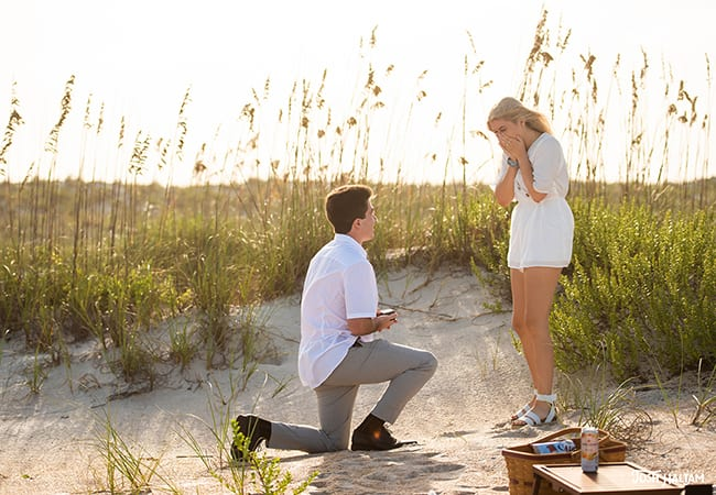 Marriage Proposal Planning Guide | Preston and Anastasia's St. Augustine Beach Proposal