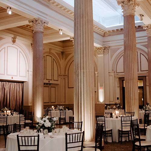 Wedding Packages | Wedding Reception at The Treasury on the Plaza