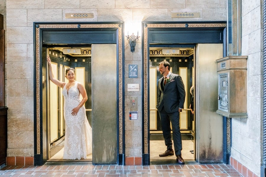 Wedding Photos at The Treasury on the Plaza | Adrianne and Jake
