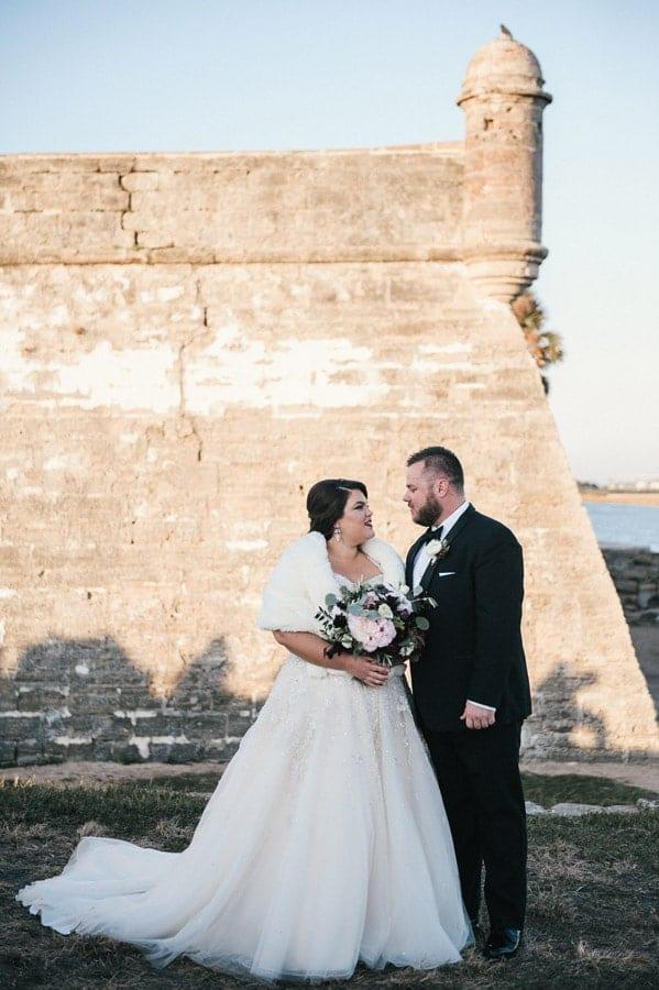 Outdoor Wedding Photos in St Augustine