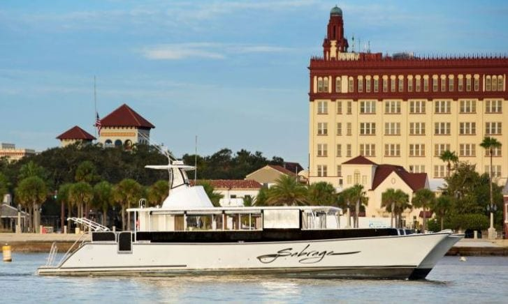 Catamaran for individuals and private boat charters here in St. Augustine Florida