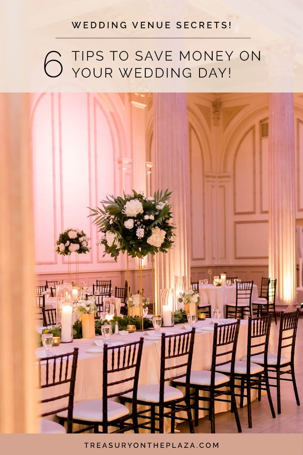 Saving Money on Your Wedding Day | Wedding Cost Saving Tips From The Wedding Venue Experts at The Treasury Venue Collection