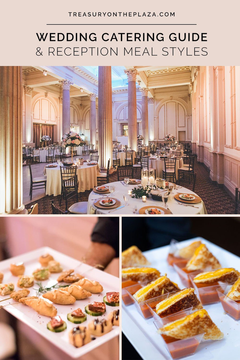 Wedding Catering Guide & Reception Meal Styles
