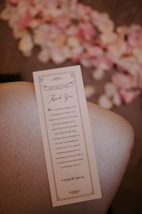 Glam Wedding with a Rock and Roll Surprise at The Treasury | Cristal + Steven